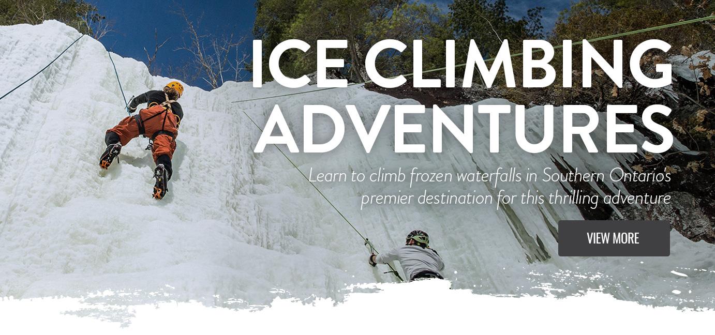 Ice Climbing – Intro Climbing Adventure