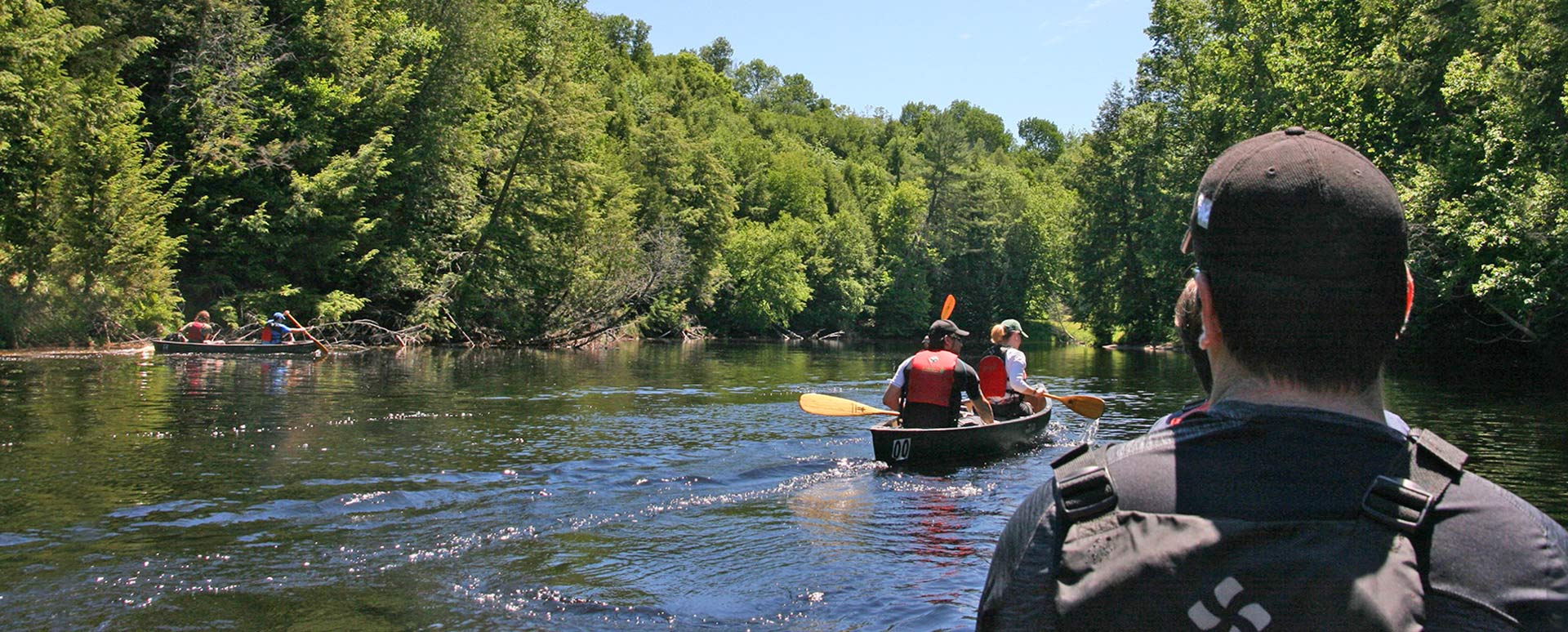 Canoe & Rappelling Guided Experience
