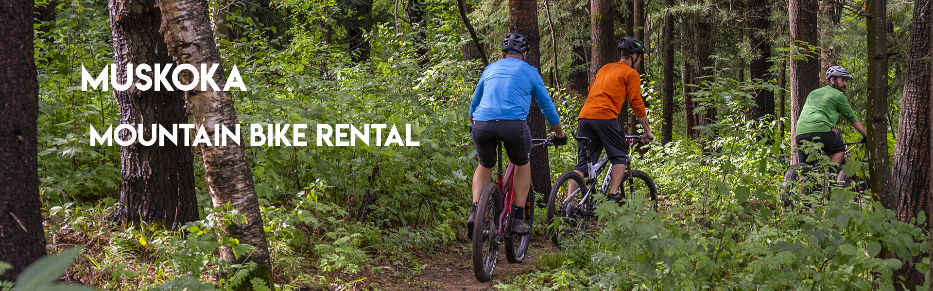 Muskoka Mountain Bike Rental
