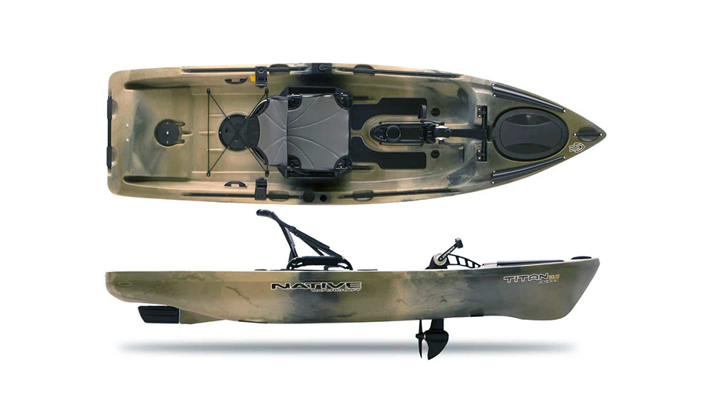 Native Titan 10 5 Propel Kayak