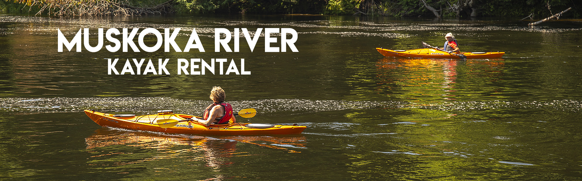 Muskoka River Kayak Rental Adventure