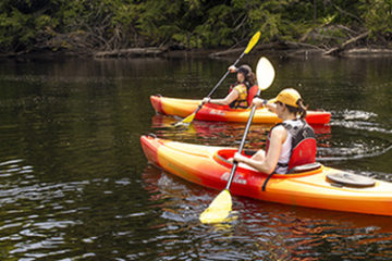 Kayaking-Muskoka-River