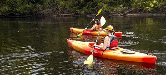 Kayaking-Muskoka-River