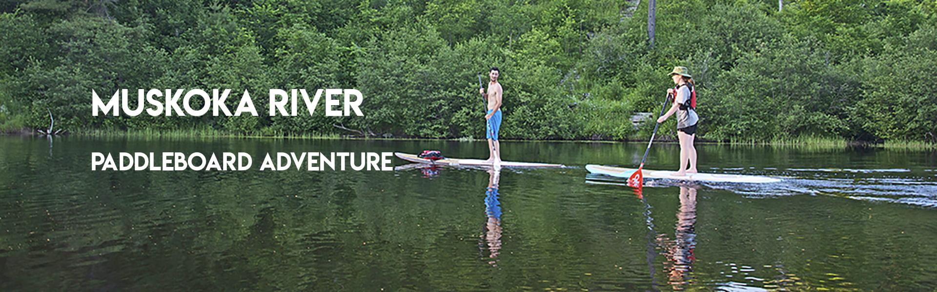 Muskoka River Paddleboard Adventure