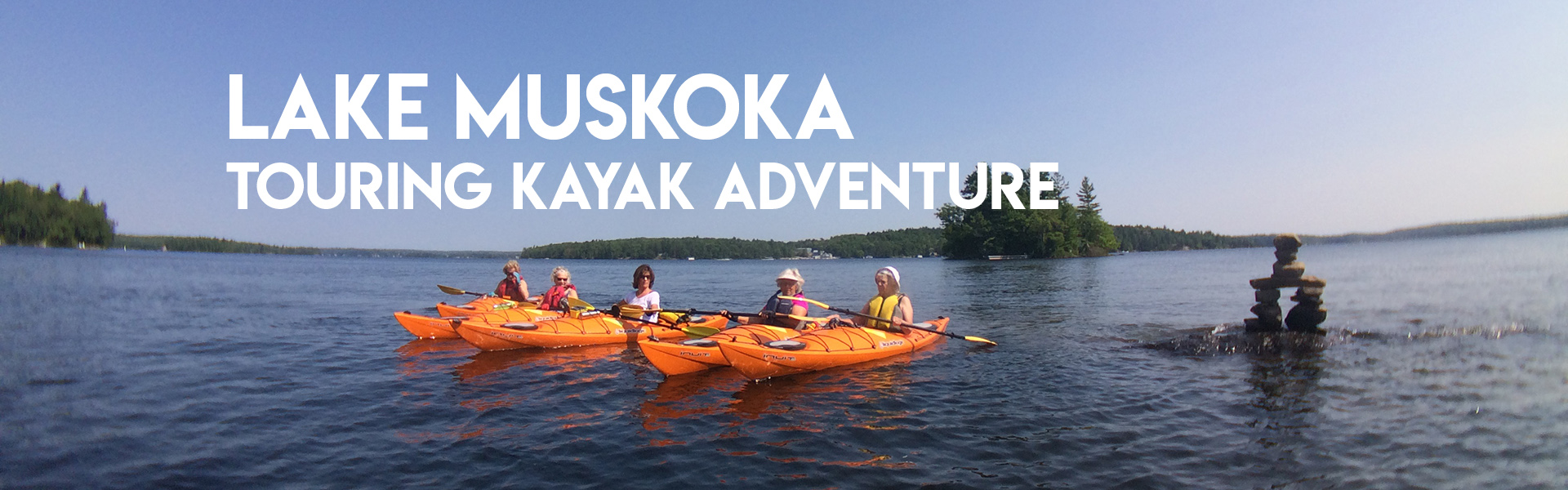 Lake Muskoka Touring Kayak Adventure