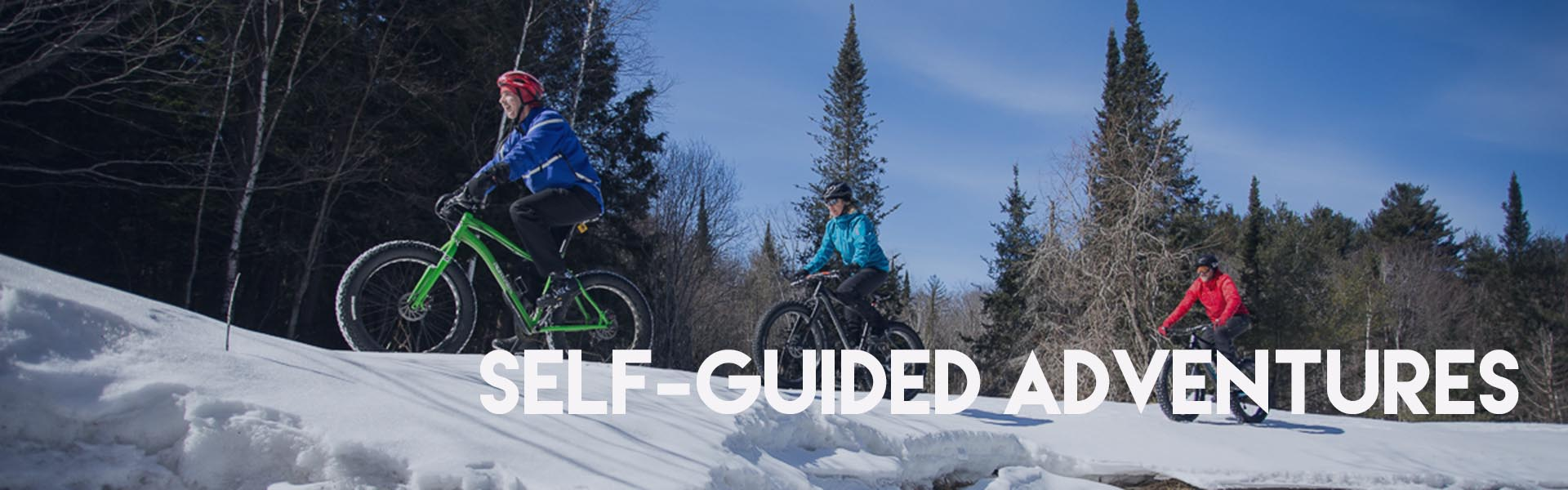 Self-Guided Winter Adventures