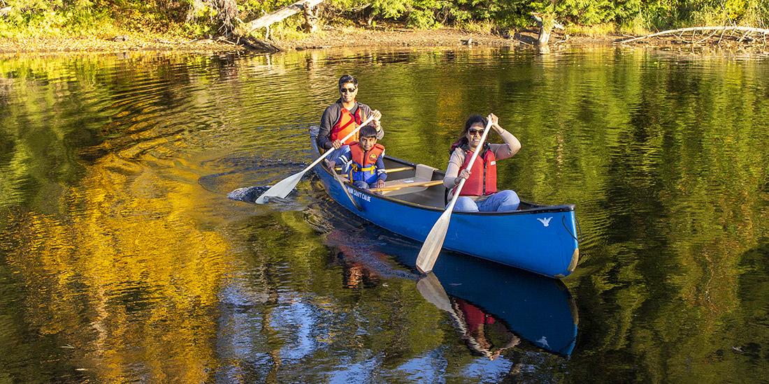 Canoeing-Muskoka-River