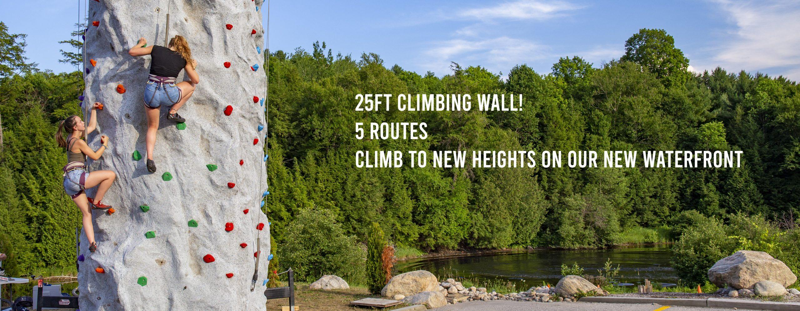 Muskoka Climbing Wall